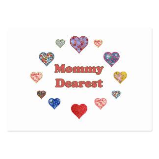 Mommy Dearest Business Cards