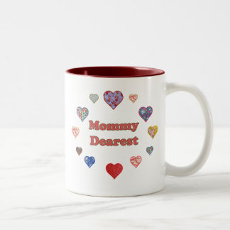 Mommy Dearest Two-Tone Coffee Mug