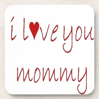 mommy drink coaster