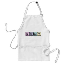 Apron with Mommy Elements design