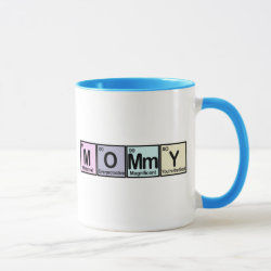 Combo Mug with Mommy Elements design