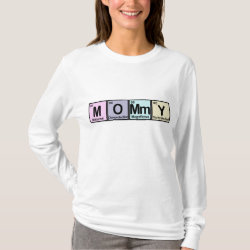 Women's Basic Long Sleeve T-Shirt with Mommy Elements design