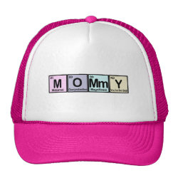 Trucker Hat with Mommy Elements design