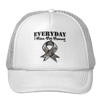 Mommy - Everyday I Miss My Hero Military Hats
