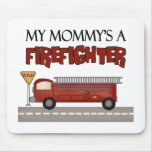 Mommy Firefighter Children's Gifts Mouse Pad