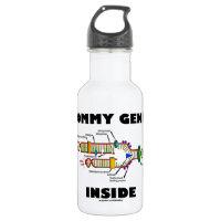 Mommy Genes Inside (DNA Replication) 18oz Water Bottle