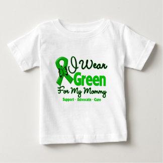 Mommy - Green  Awareness Ribbon Tshirts