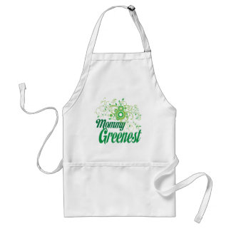 Mommy Greenest Adult Apron