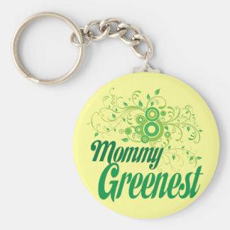 Mommy Greenest Key Chain