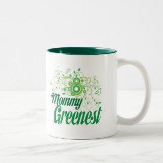 Mommy Greenest Two-Tone Coffee Mug