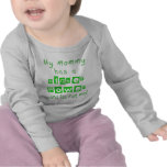Mommy Has A Higher Power Infant LS Shirt  - Green