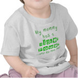 Mommy Has A Higher Power Infant Shirt - Green