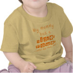 Mommy Has A Higher Power Infant Shirt - Orange