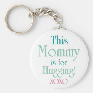 Mommy-Hugging Keychains