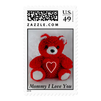 Mommy I Love You Postage