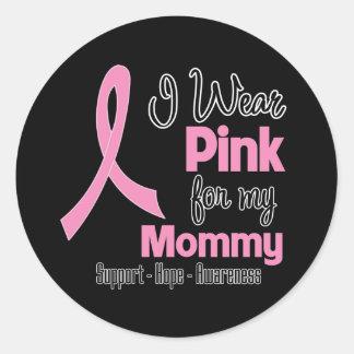 Mommy - I Wear Pink - Breast Cancer Sticker