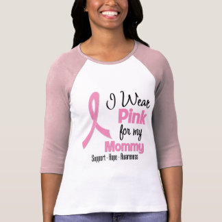 Mommy - I Wear Pink - Breast Cancer T-Shirt