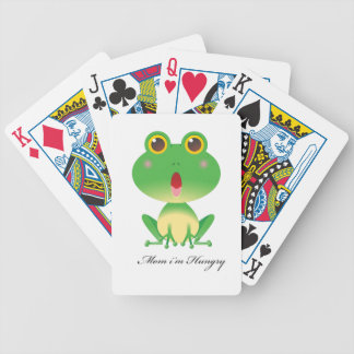 Mommy I'm hungry multiproduct selected gift for al Bicycle Playing Cards