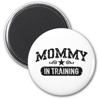 Mommy In Training 2 Inch Round Magnet