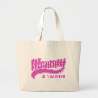 Mommy In Training Jumbo Tote Bag
