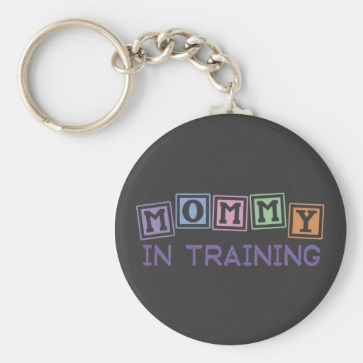 Mommy In Training Key Chain
