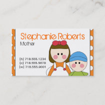 Mommy Info Card