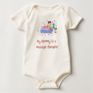 Mommy is a Massage Therapist Baby T-Shirt