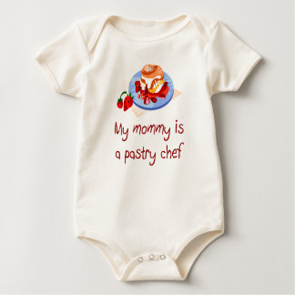 Mommy is a Pastry Chef Baby T-Shirt