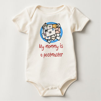 Mommy is a Postmaster Baby T-shirt