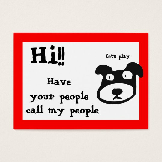 Mommy / Kid contact Card
