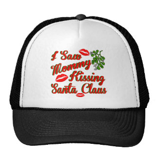 mommy kissing santa.png mesh hat