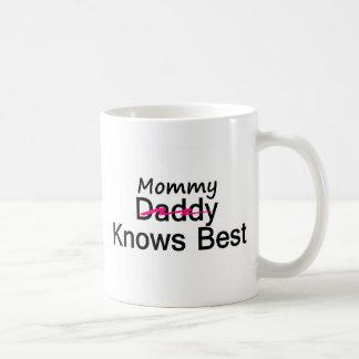 Mommy Knows Best Coffee Mug