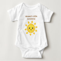 Mommy Little Sunshine of Happiness Baby Bodysuit