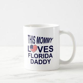 Mommy Love Florida daddy Classic White Coffee Mug
