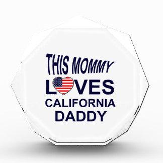 mommy loves California daddy Award