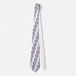 mommy loves California daddy Neck Tie
