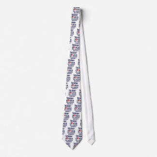 mommy loves Delaware daddy Neck Tie