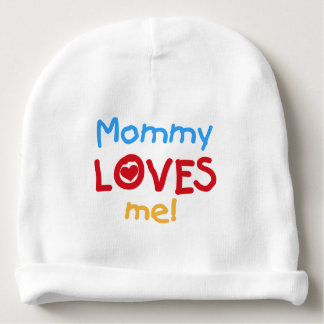 Mommy Loves Me Baby Beanie