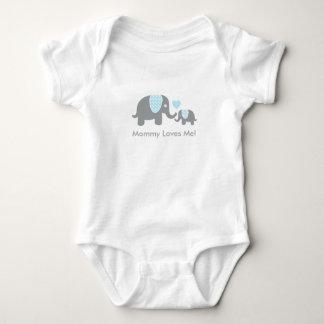 Mommy Loves Me Elephants T-shirt