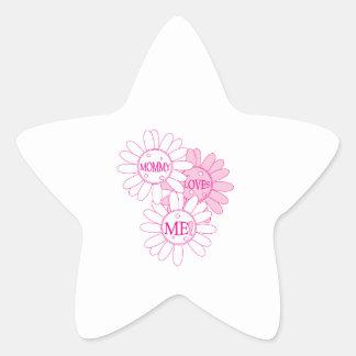 Mommy Loves Me! Star Sticker