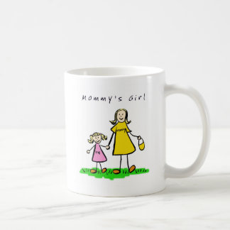 Mommy & Me (Blond with Title) Classic White Coffee Mug
