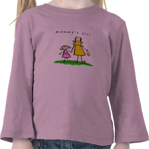 Mommy & Me (Blond with Title) T Shirts