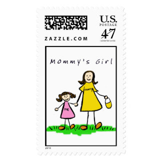 Mommy & Me (Brunette) Stamp