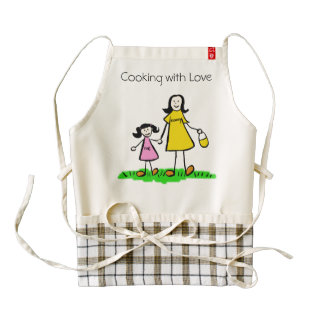 Mommy & Me Custom Mother and Daughter Family Apron