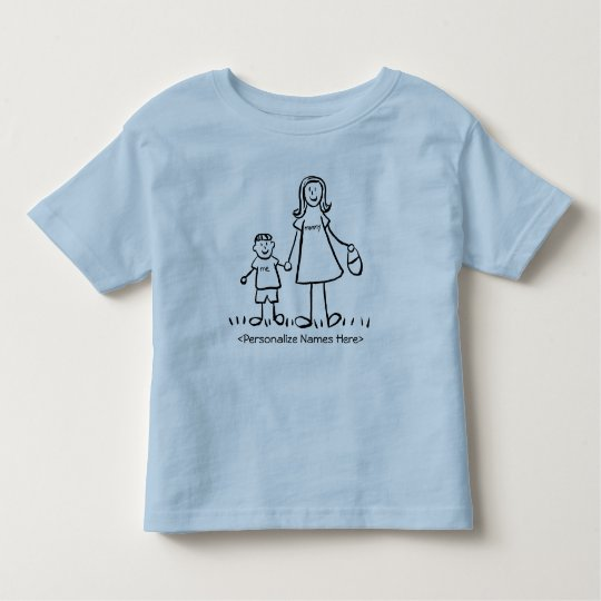 Mommy & Me Little Boy -  Mother & Son Shirts