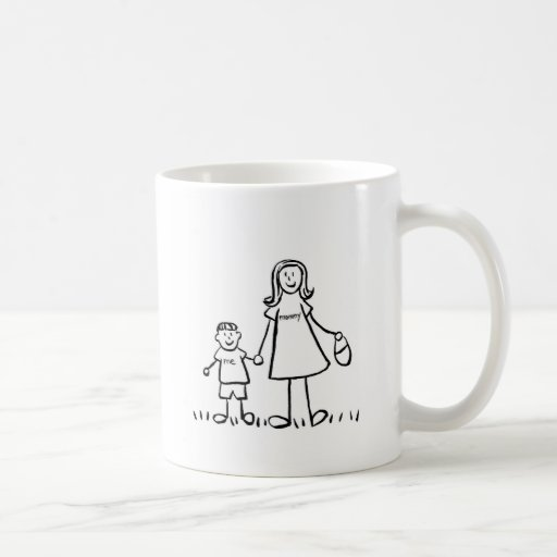 Mommy & Me Mug (Drawing with No Title)