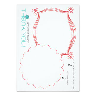 Mommy & Me Notecards Invitation