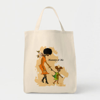 Mommy & Me Organic grocery Tote Tote Bag