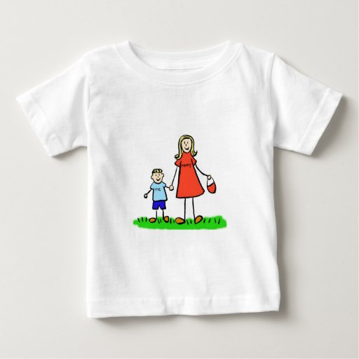 Mommy & Me T-Shirt (Blond with No Title)
