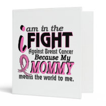 Mommy Means The World To Me Breast Cancer Binder